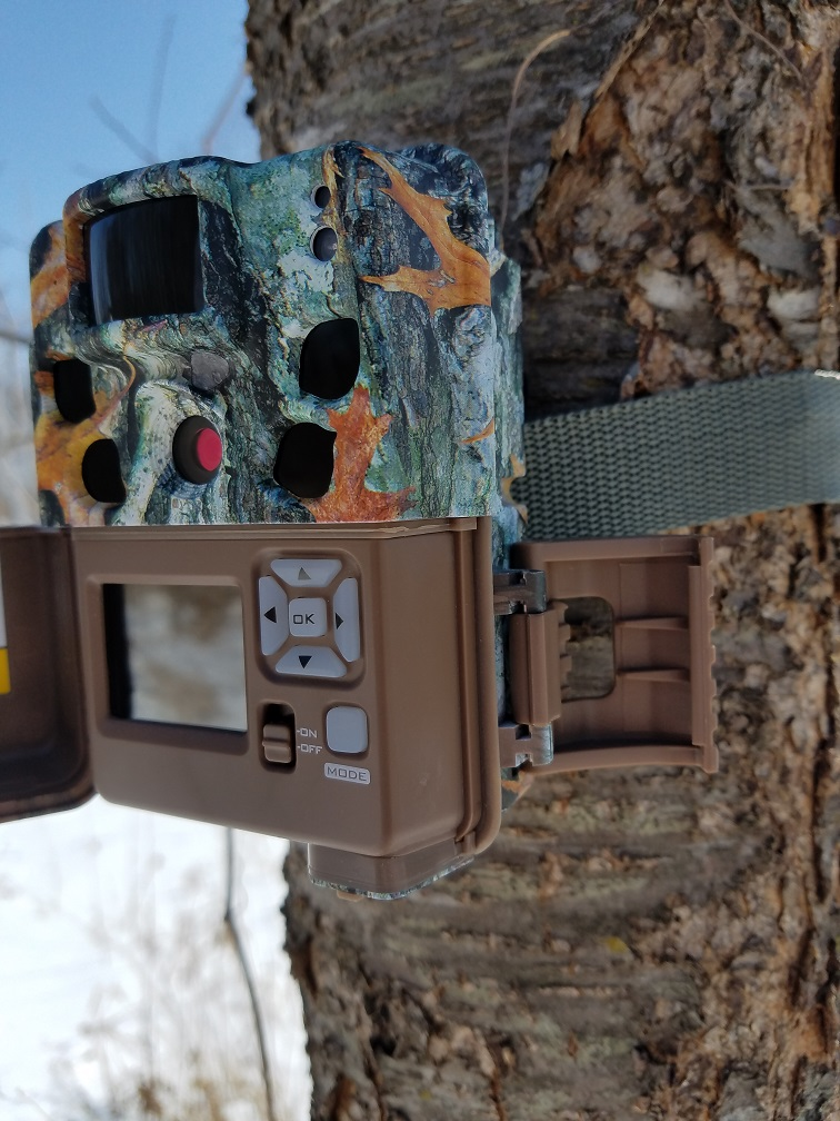 Browning Dark Ops Pro Mounted To Tree